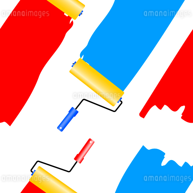 Seamless wallpaper the platen for painting vector background. Vector illustration.のイラスト素材 [FYI03074653]