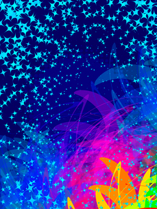 colorful abstract transparency shapes, vector, EPS 10のイラスト素材 [FYI03075239]