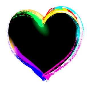 beautiful heart, symbol of valentine's day, vectorのイラスト素材 [FYI03075254]