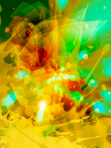 abstract beautiful flash, vector, EPS 10 with meshのイラスト素材 [FYI03075309]