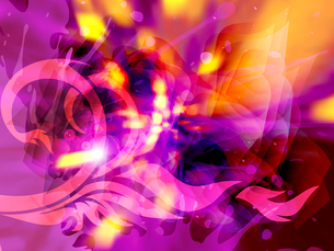 abstract beautiful flash, vector, EPS 10 with meshのイラスト素材 [FYI03075313]