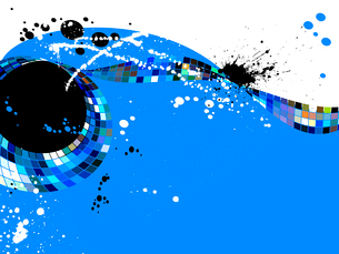abstract grunge background, vector  without gradientのイラスト素材 [FYI03075359]
