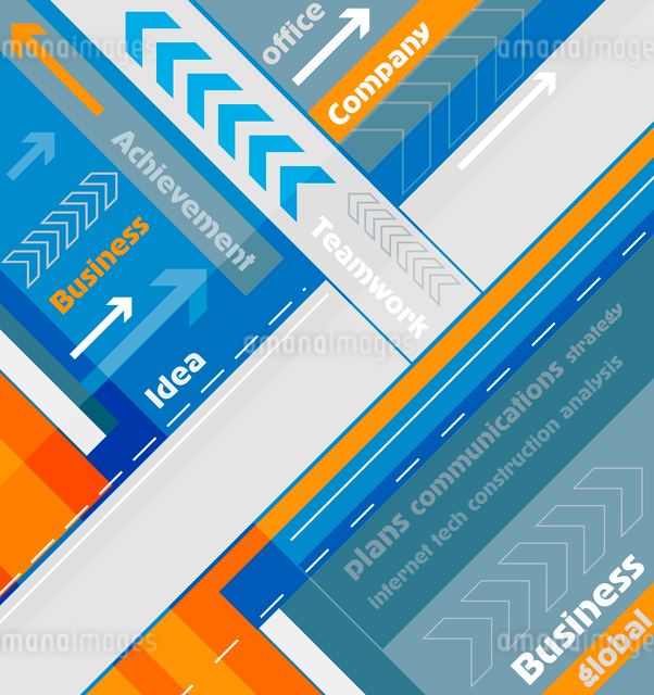Abstract corporate modern backgroundのイラスト素材 [FYI03075883]