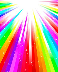 rainbowbackgroundのイラスト素材 [FYI03076121]