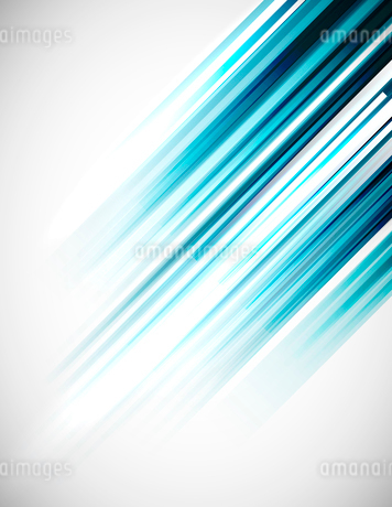 Blue abstract straight lines vector backgroundのイラスト素材 [FYI03076364]