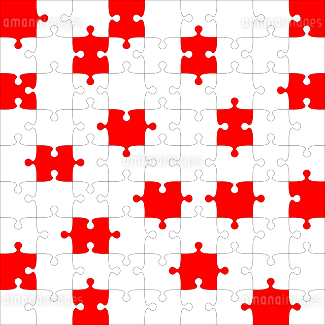 Background Vector Illustration jigsaw puzzleのイラスト素材 [FYI03076394]