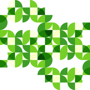 Green modern geometric abstract backgroundのイラスト素材 [FYI03076523]