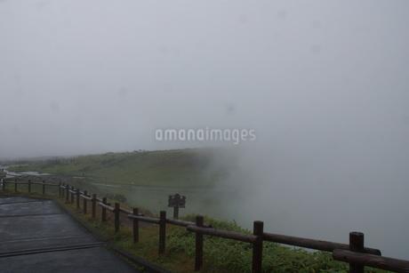 霧の美幌峠の写真素材 [FYI03076686]