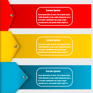Set of abstract banners to create infographics. Vector illustrationのイラスト素材 [FYI03076765]