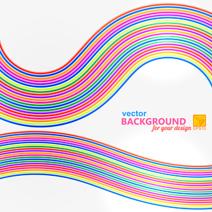 Bright abstract background with geometric wire frame. Vector illustrationのイラスト素材 [FYI03076844]