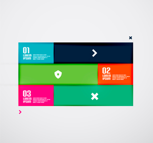 Modern minimal infographicsのイラスト素材 [FYI03076943]