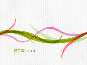 Green eco nature minimal floral concept | flying leaves | nature flying leaves templateのイラスト素材 [FYI03077046]