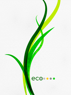 Green eco nature minimal floral concept | flying leaves | nature flying leaves templateのイラスト素材 [FYI03077049]