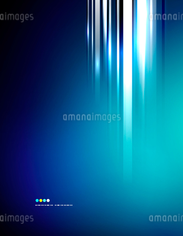 Light shiny straight lines on color background. Abstract design templateのイラスト素材 [FYI03077604]