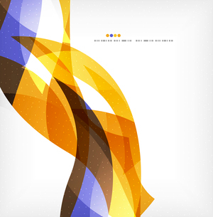 Business wave corporate background, flyer, brochure design templateのイラスト素材 [FYI03078058]