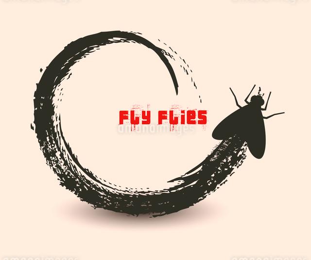 fly fliesのイラスト素材 [FYI03078309]