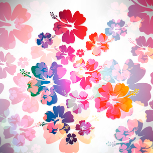 Abstract tropical backgroundのイラスト素材 [FYI03078346]