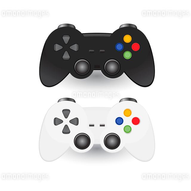Illustration of Game pad Joysticのイラスト素材 [FYI03078397]