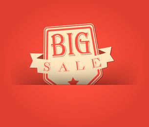 Big sale with retro vintage styled designのイラスト素材 [FYI03078406]