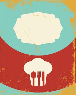 Restaurant menu designのイラスト素材 [FYI03078458]
