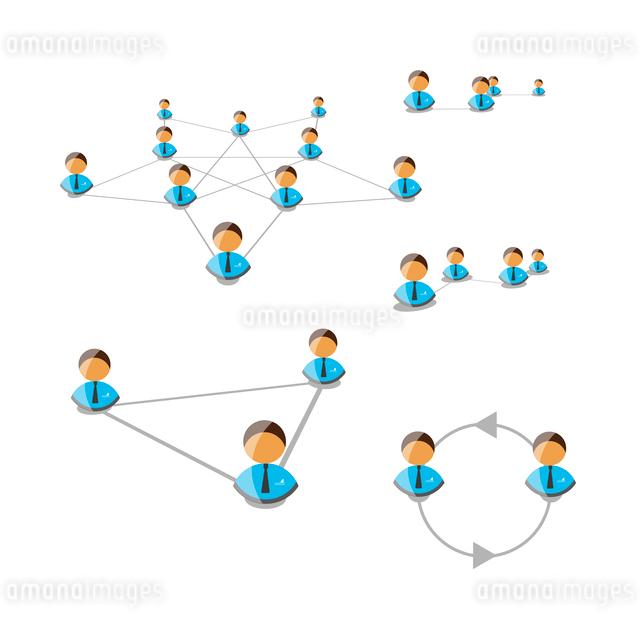 Network concept. Vector illustration.のイラスト素材 [FYI03078465]