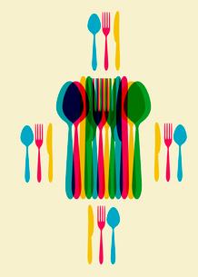 restaurant menu templateのイラスト素材 [FYI03078482]