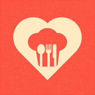 restaurant menu retro posterのイラスト素材 [FYI03078516]