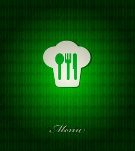 restaurant menu retro posterのイラスト素材 [FYI03078524]