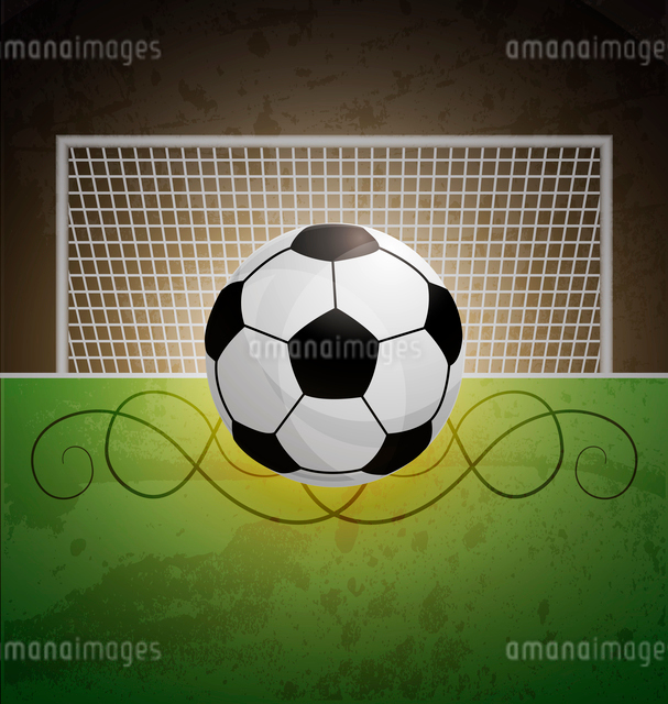 Soccer fieldのイラスト素材 [FYI03078601]