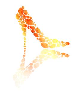 golden shoeのイラスト素材 [FYI03078623]