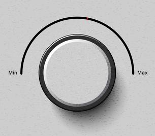volume buttonのイラスト素材 [FYI03078634]