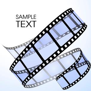 Film strip. Raster version of the vector illustrationのイラスト素材 [FYI03079678]