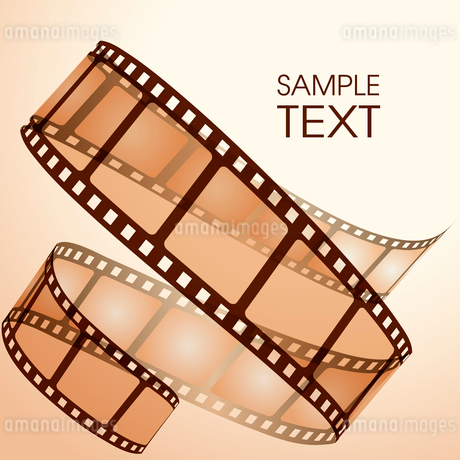 Old film stripのイラスト素材 [FYI03079680]