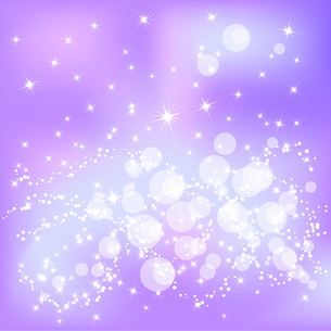 Abstract violet Christmas background with white snowflakesのイラスト素材 [FYI03079763]