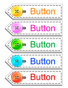 Web buttons setのイラスト素材 [FYI03079778]