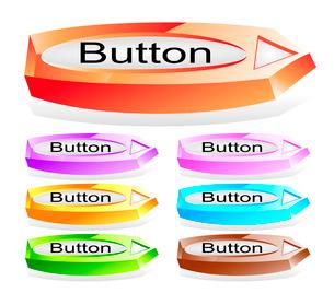 Set of shiny web menu buttonsのイラスト素材 [FYI03079787]