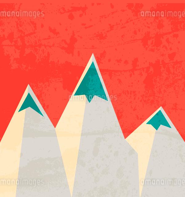 Mountain landmark. Landscapeのイラスト素材 [FYI03079956]