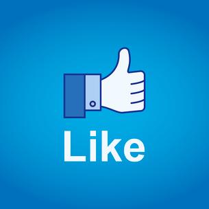 Thumb Up. Like conceptのイラスト素材 [FYI03080109]