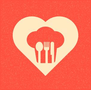 restaurant menu retro posterのイラスト素材 [FYI03080173]