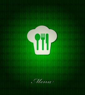 restaurant menu retro posterのイラスト素材 [FYI03080185]