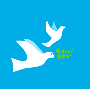 Dove of Peace Vectorのイラスト素材 [FYI03080253]