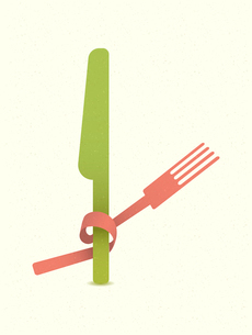 vintage restaurant menu retro posterのイラスト素材 [FYI03080263]