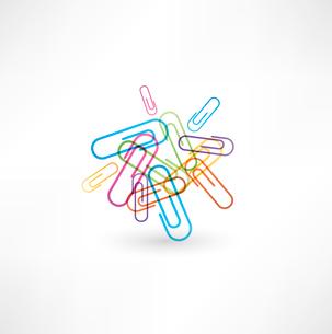 Paper clipのイラスト素材 [FYI03080302]