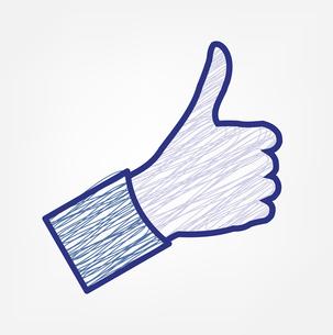 Thumb Upのイラスト素材 [FYI03080373]