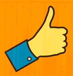Thumb Upのイラスト素材 [FYI03080378]