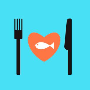 fish restaurant menu.のイラスト素材 [FYI03080381]
