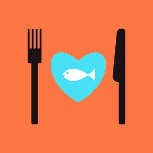 fish restaurant menu.のイラスト素材 [FYI03080386]