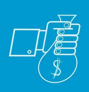hand holding money bag with dollarのイラスト素材 [FYI03080423]