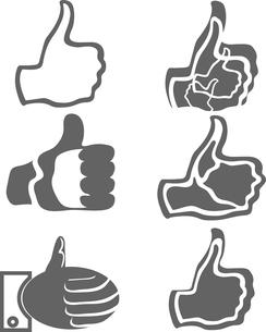 thumb upのイラスト素材 [FYI03080429]