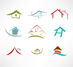 Real estate iconのイラスト素材 [FYI03080490]